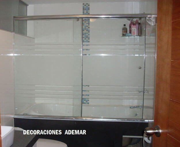puertas de duchas vidrio templado
