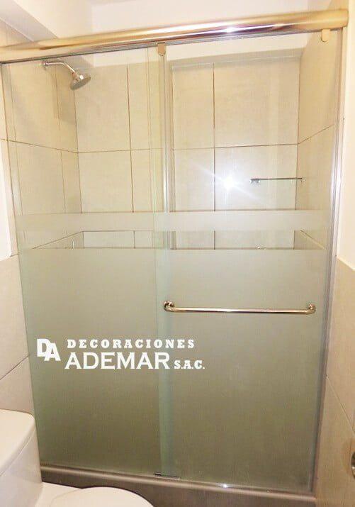 arenado de duchas