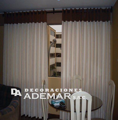 cortinas ojales
