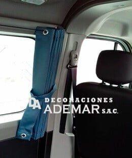 cortinas de carros minivan