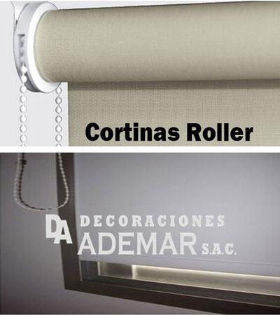 cortinas roller duo