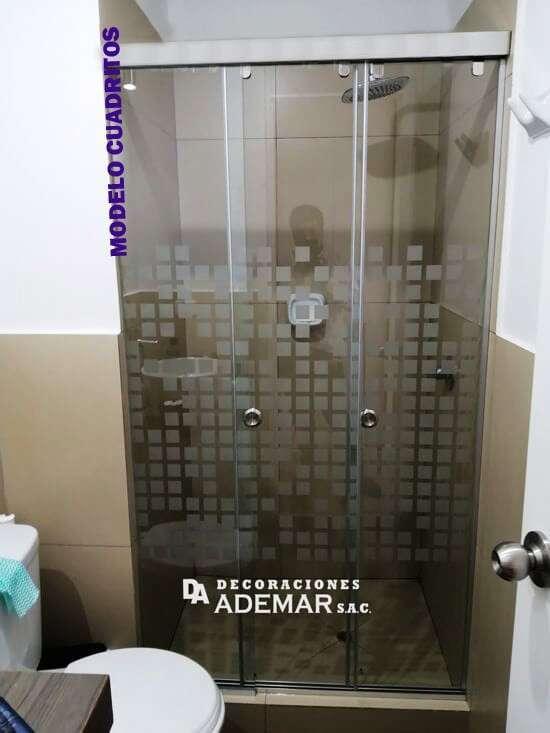 puertas para duchas baños pequeñas