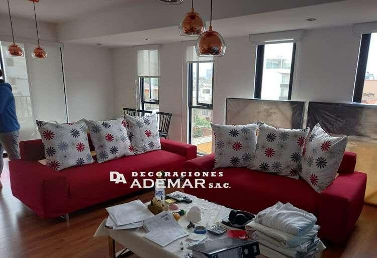forro de mueble moderno